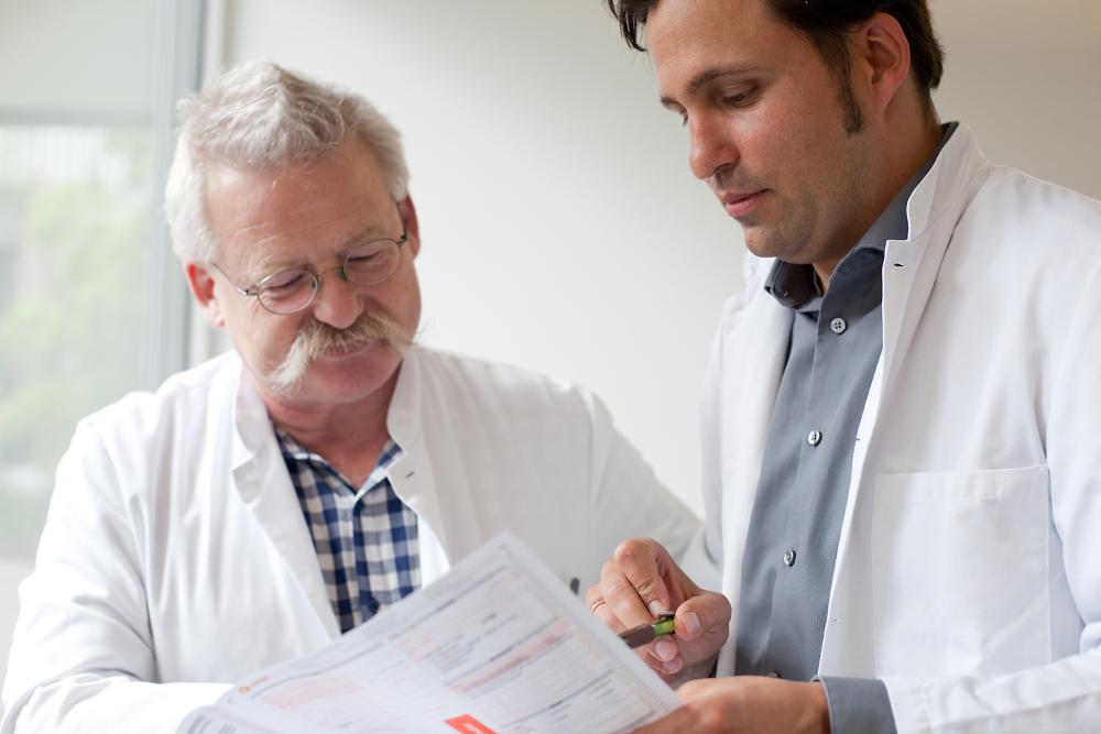Dr. Huber und PD Dr. med. Petrausch