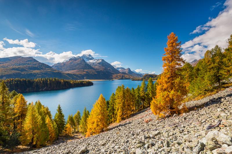 Graubünden im Herbst