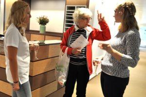 MPAs Stefanie Ernst & Salome Perschel mit Gast